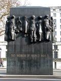 ii światowe wojenne pomnik kobiety Zdjęcie Royalty Free