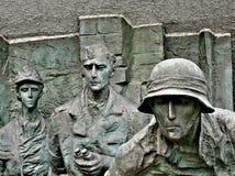 ii wojna monument słowo Obrazy Royalty Free