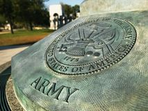 ii wojny pomnik świat obrazy stock