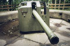Free II World War Cannon Stock Images - 99833684