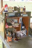 Ii world war Us army camp Stock Photo
