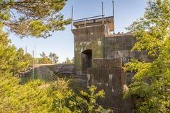 II WW-Bunker Royalty-vrije Stock Foto