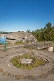 II WW-Bunker Stock Afbeeldingen