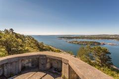 II WW Bunker. II World War Abandoned Bunker in Kristiansand, Norway Royalty Free Stock Image