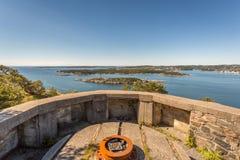 II WW Bunker. II World War Abandoned Bunker in Kristiansand, Norway Stock Photos