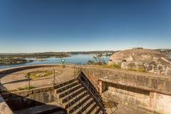 II WW Bunker. II World War Abandoned Bunker in Kristiansand, Norway Royalty Free Stock Photography