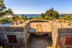 II WW Bunker. II World War Bunker in Kristiansand, Norway Stock Image