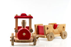 ii zabawka pociąg Zdjęcie Stock