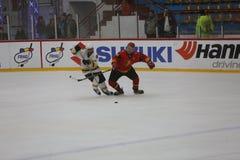 2017 IIHF LODOWEGO hokeja ŚWIATOWY mistrzostwo - Australia vs Belgia Fotografia Royalty Free