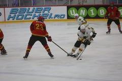 2017 IIHF LODOWEGO hokeja ŚWIATOWY mistrzostwo - Australia vs Belgia Zdjęcia Stock