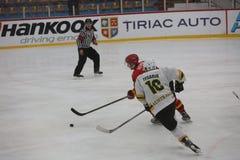 2017 IIHF LODOWEGO hokeja ŚWIATOWY mistrzostwo - Australia vs Belgia Obraz Stock
