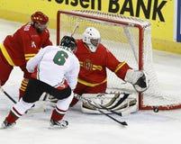 IIHF-världsmästerskap Royaltyfri Bild