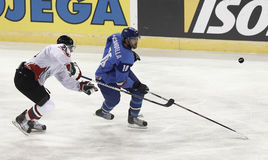 IIHF Weltmeisterschaft Stockfoto