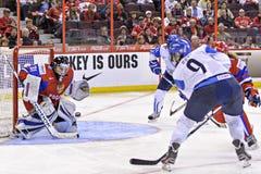 IIHF Women's Ice Hockey World Championship - Bronze Medal Match - Russia v Finland Royalty Free Stock Photography