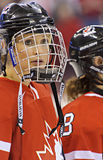 IIHF Women's Ice Hockey World Championship - Gold Medal Match - Canada v USA Stock Photo
