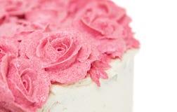 Розовый цветок замораживая III Стоковое Фото