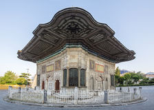 III. Ahmet Fountain in Fatih district of Istanbul, Turkey.  Royalty Free Stock Photography
