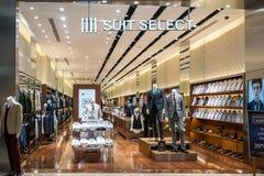 IIII boutique choisie de costume chez Bangna méga, Bangkok, Thaïlande, le 19 mars, Photos libres de droits