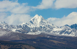 Iiktu mountain peak Stock Photography