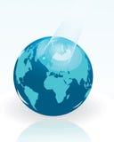 Iillustration Karte der Welt Stockbilder