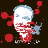 IIlustration del vector de Martin Luther King, JR para celebrar MLK stock de ilustración