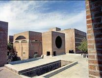 IIM чудо Ахмадабада 1986 архитектурноакустическое стоковые изображения rf