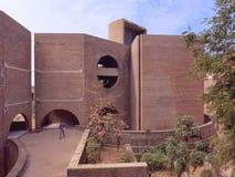 IIM Architekturwunder Ahmedabads 1986 lizenzfreie stockfotos