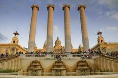 Iin magico Barcellona della fontana Fotografia Stock