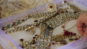 iindian przedstawienie biżuterii pudełko zdjęcie wideo