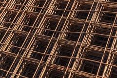 Iindustrial background, reinforcing mesh Stock Photo