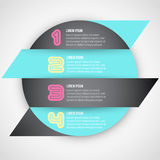 Iinfographic banner Royalty Free Stock Images