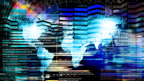 Iinnovation compiting technology. Globalization technology Royalty Free Stock Photos