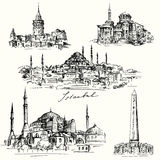 Iistanbul - Hagia Sofia Royalty Free Stock Photography