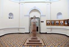 IIT罗奥尔凯埃行政大厦内部  免版税库存图片