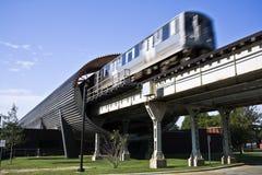 iit station train Στοκ Φωτογραφία