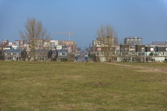 IJburg από Diemerpark Στοκ Εικόνες