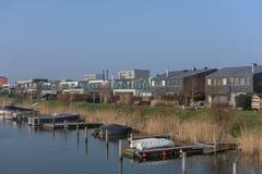IJburg από Diemerpark Στοκ φωτογραφίες με δικαίωμα ελεύθερης χρήσης