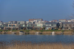 IJburg από Diemerpark Στοκ Φωτογραφία