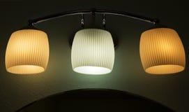 Ijdelheids drievoudige lichte inrichting royalty-vrije stock foto's
