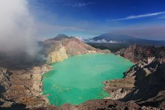 Ijen Royalty Free Stock Images