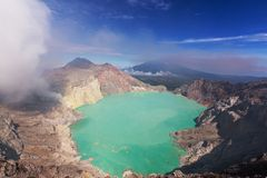 Ijen Stock Photo