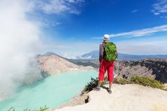 Ijen Royalty Free Stock Photo