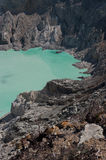 Ijen Crater Royalty Free Stock Photo