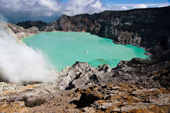 Ijen Crater Stock Images