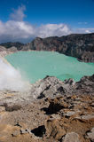 Ijen Crater Stock Image