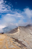 Ijen Crater Stock Photo