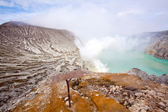 Ijen Crater Indonesia Royalty Free Stock Image