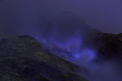Ijen Crater, Indonesia Royalty Free Stock Photo
