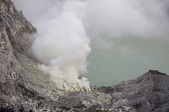 Ijen Crater Royalty Free Stock Image