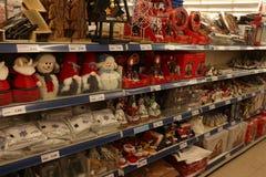 IJmuiden, οι Κάτω Χώρες - 14 Οκτωβρίου 2018: Διακοσμήσεις Χριστουγέννων στοκ φωτογραφία